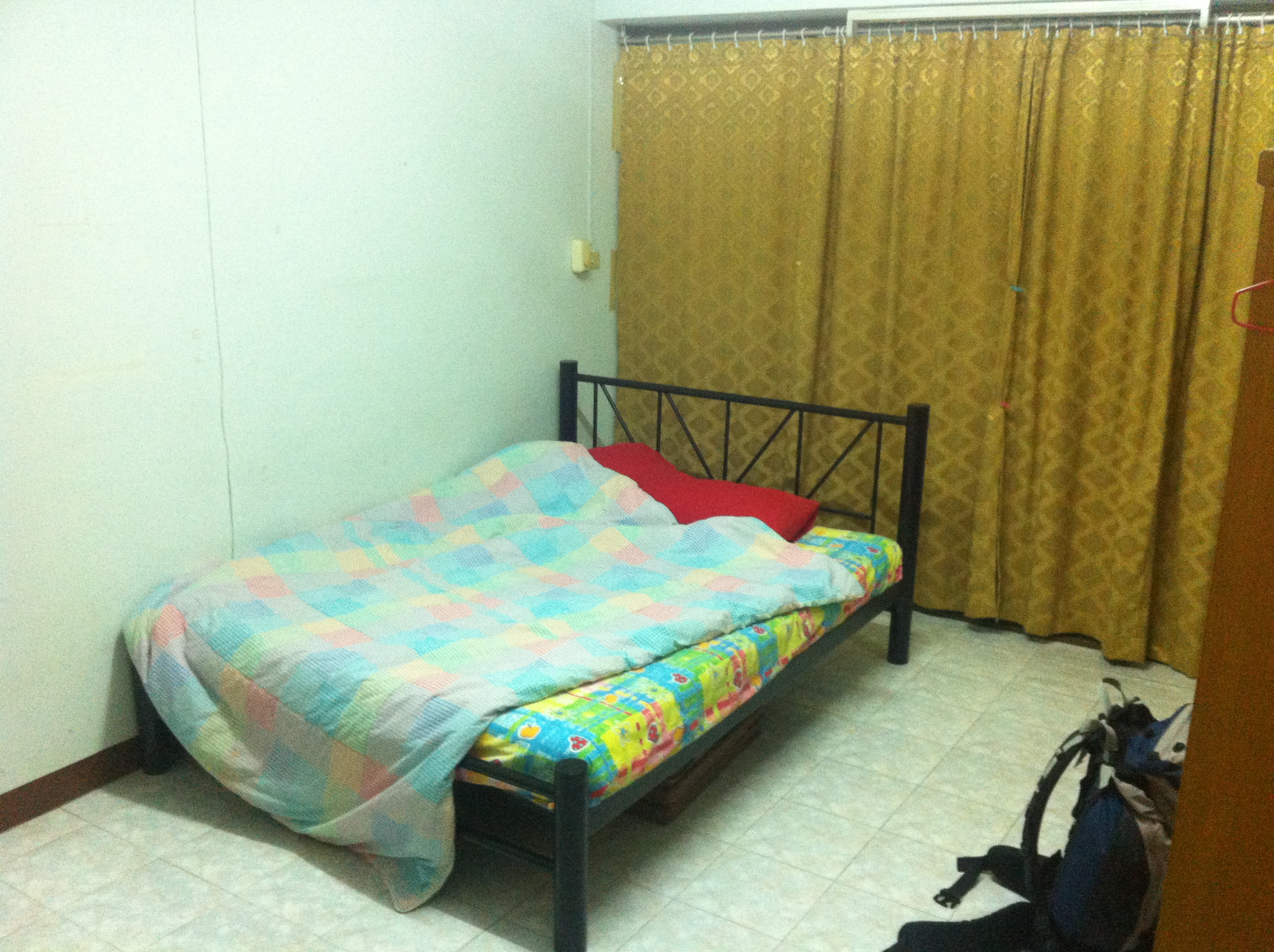 My mansion from Amnesty International Thailand - The Backpacker Intern