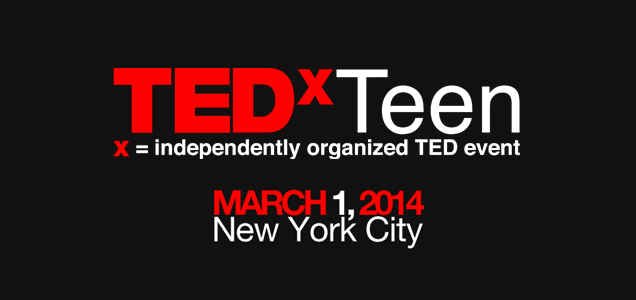 The Backpacker Intern at TEDxTeen NYC