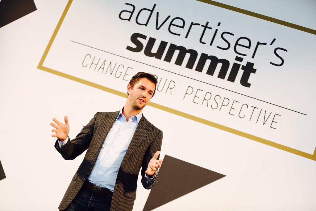The Backpacker Intern at Advertiser's Summit Copenhagen