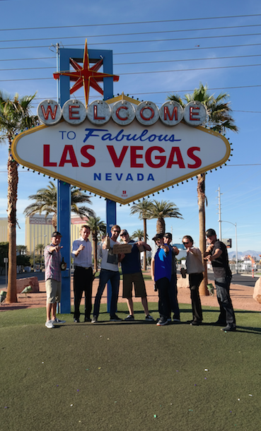 TheBackpackerIntern at Las Vegas