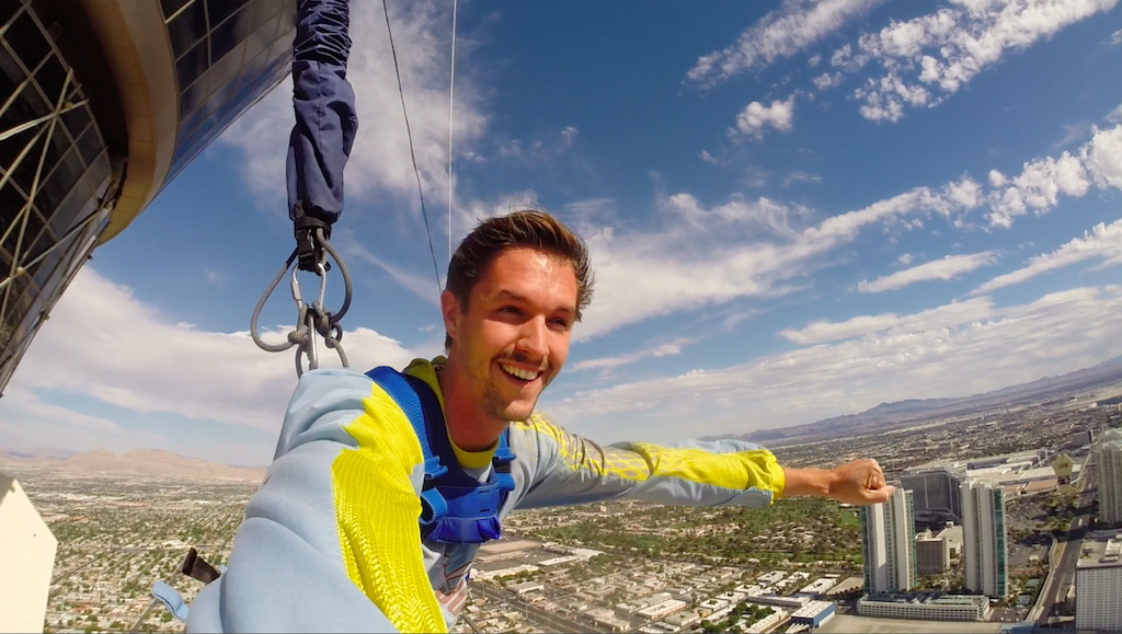 The Backpacker Intern at Las Vegas Stratosphere