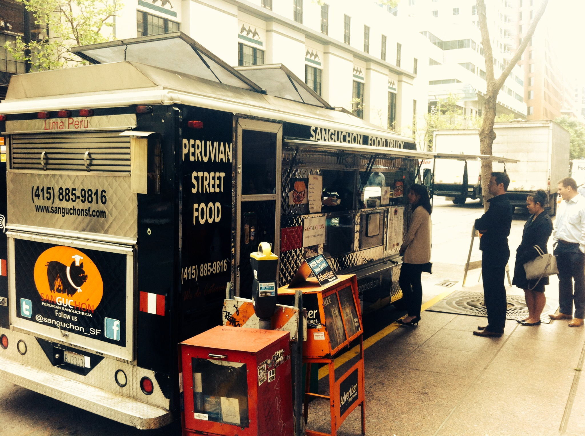 Peruvian Food Truck in San Francisco (The Backpacker Intern)