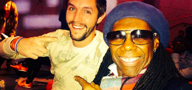 Legendary Hitmaker Nile Rodgers hires The Backpacker Intern