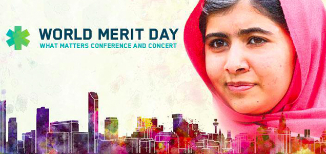 World Merit Day with Malala and The Backpacker Intern