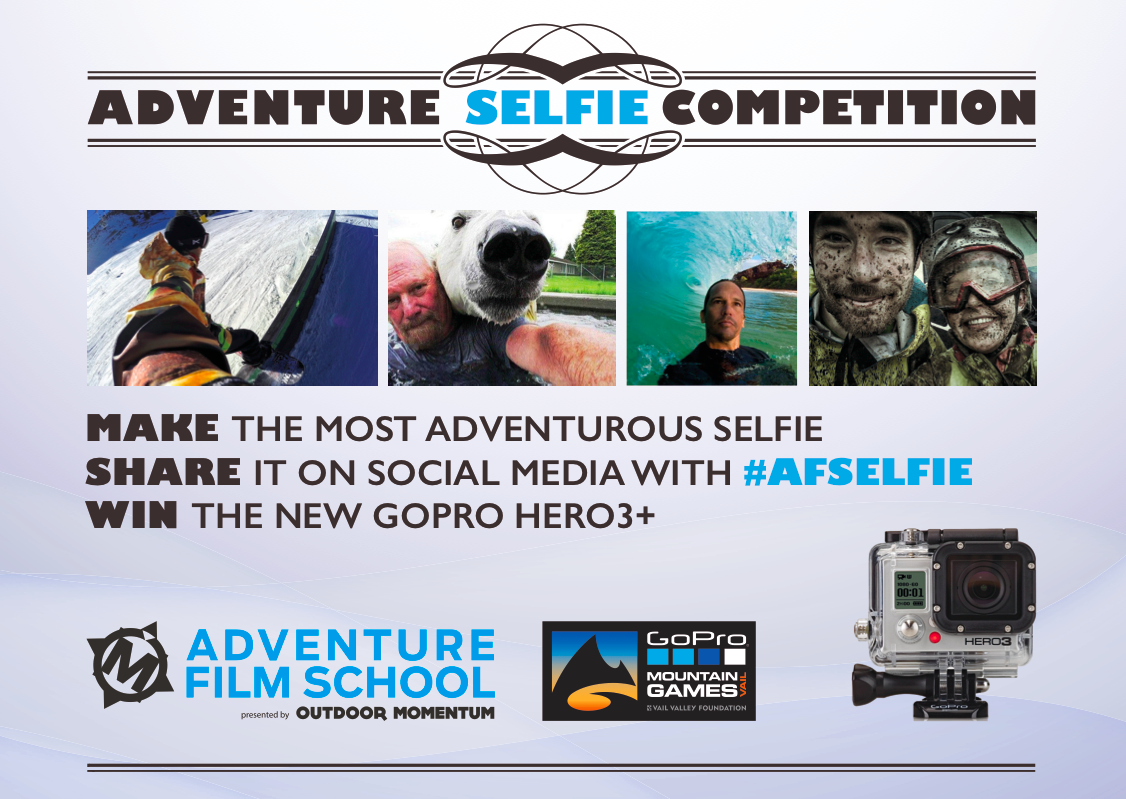 Adventure Film School Selfie Competition - The Backpacker Intern