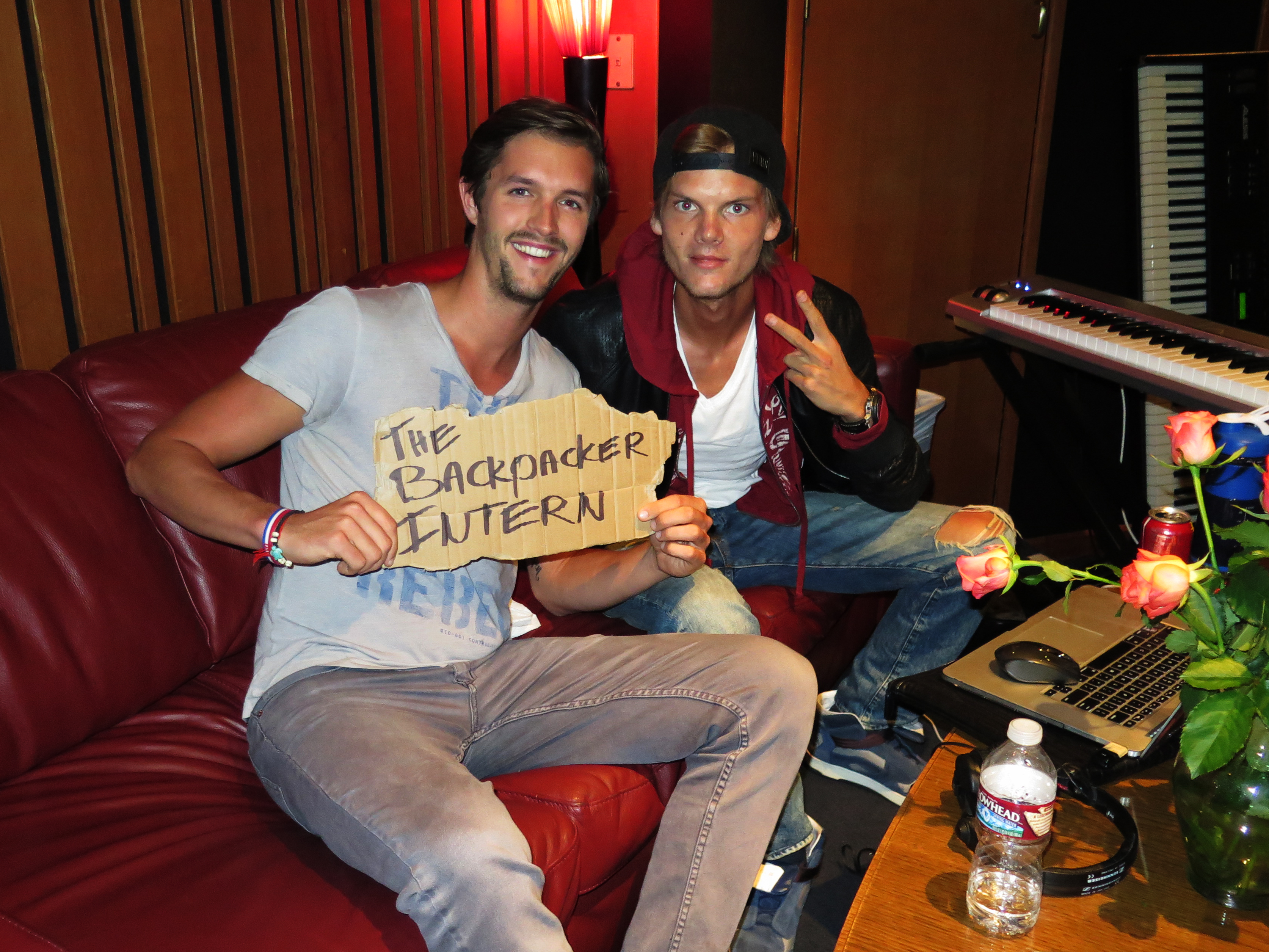The Backpacker Intern with Avicii