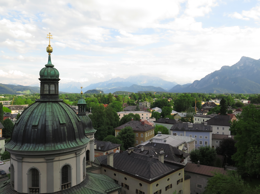 Salzburg, Austria view - The Backpacker Intern