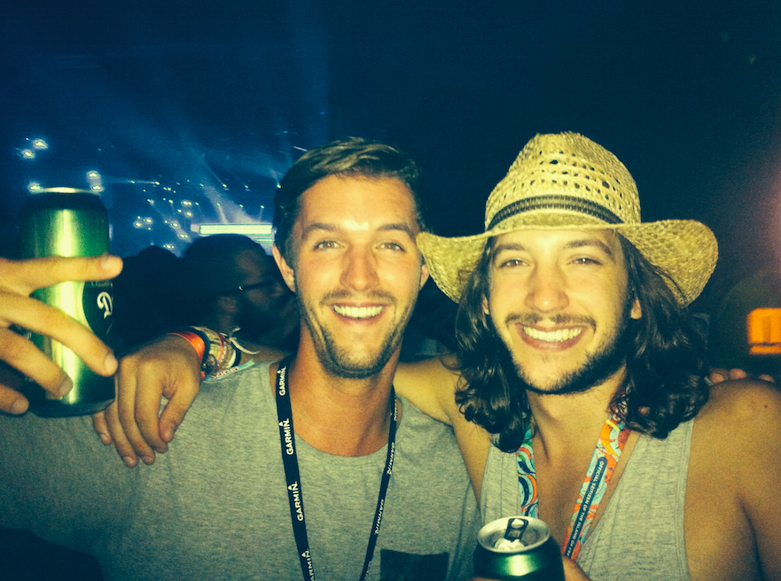 The Backpacker Intern + Birthdaysuit at Sziget