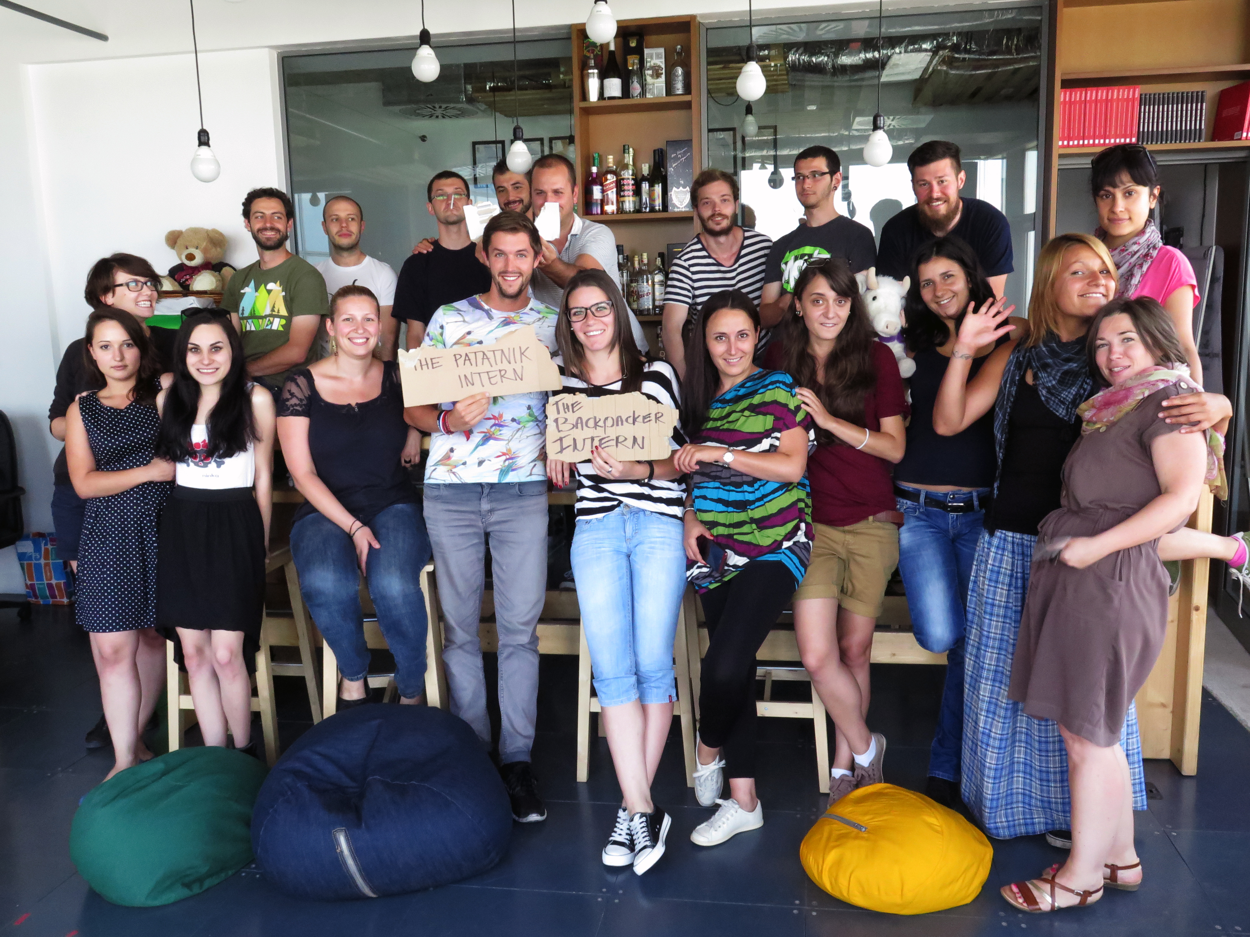 The Backpacker Intern + Saatchi Saatchi Bulgaria