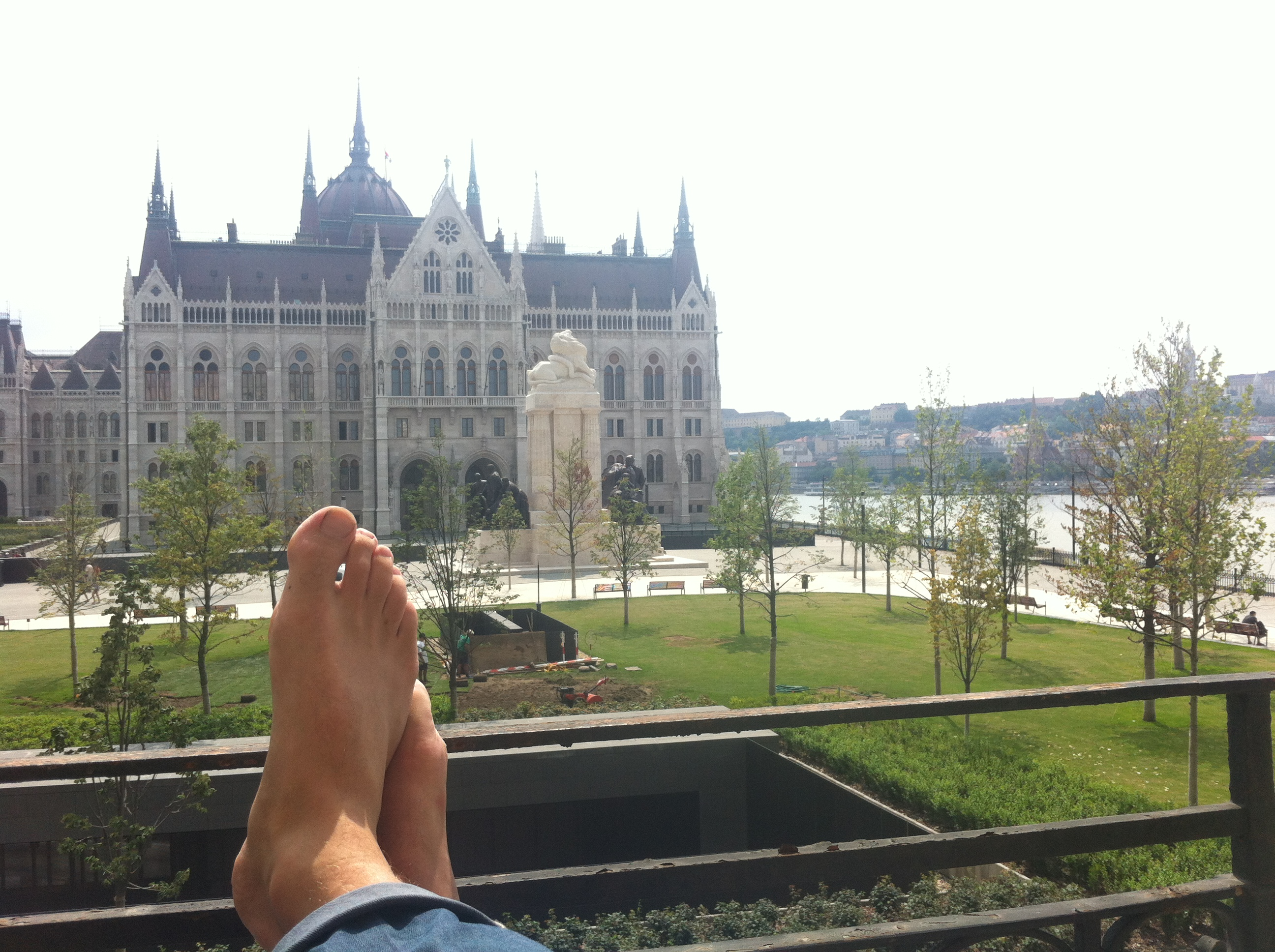 The Backpacker Intern + View Insomnia Budapest