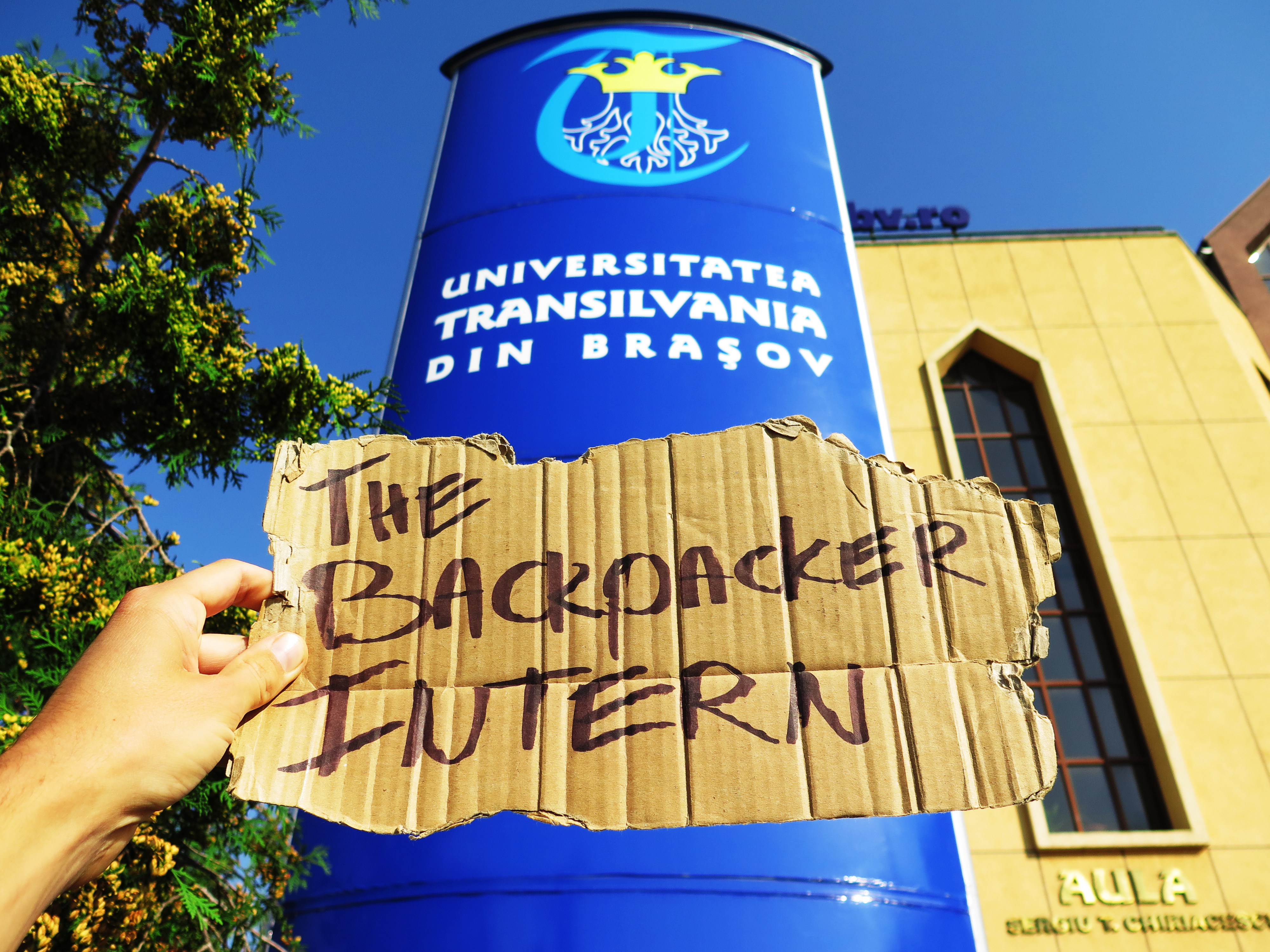 The Backpacker Intern + University of Brasov Romania
