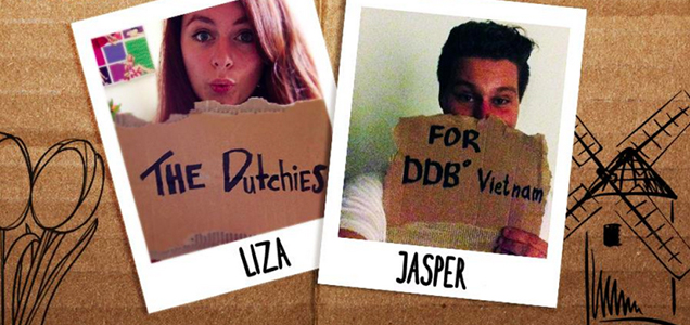 New Backpacker Interns for DDB Vietnam