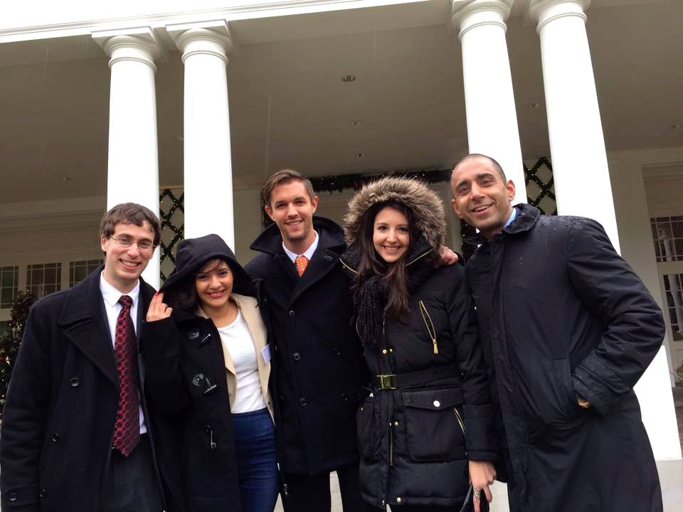 The Backpacker Intern + Friends at The White House