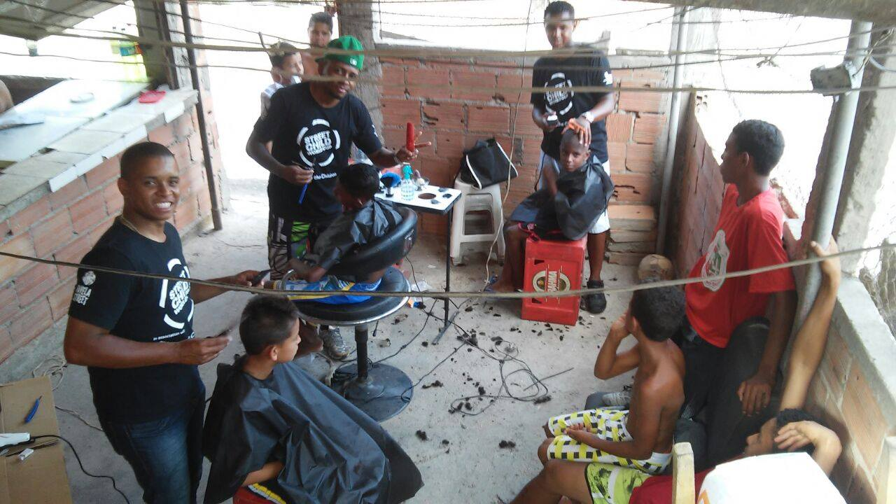 Favela Street Barbershop - The Backpacker Intern