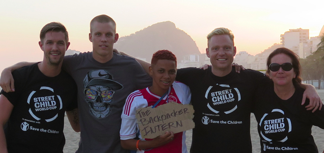 Grenades, Peaks, Football and Friends in Rio