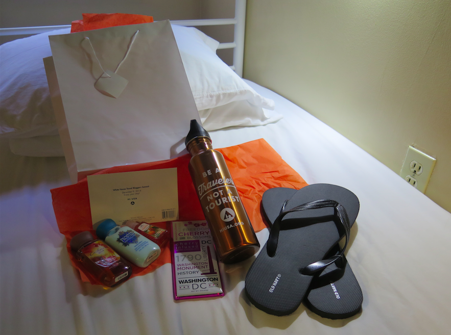 Washington DC Hostel Goodiebag - The Backpacker Intern