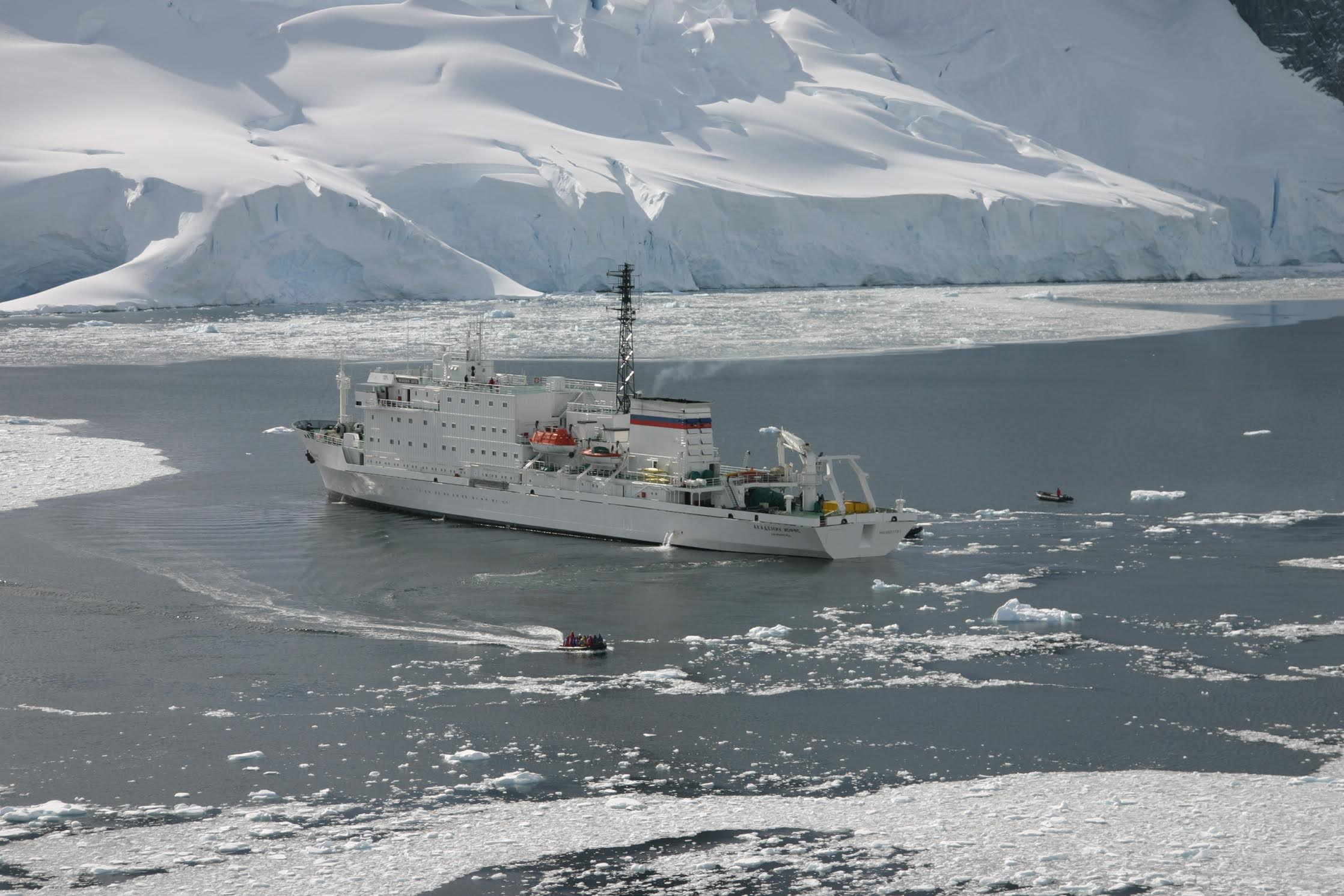Akademik Ioffe at Antarctica - The Backpacker Intern