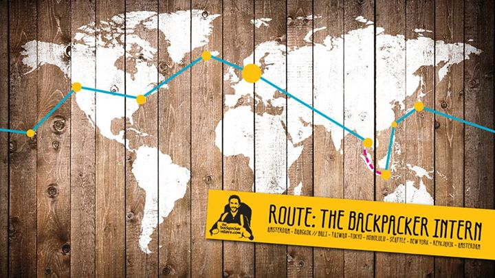 The Backpacker Intern Worldticket