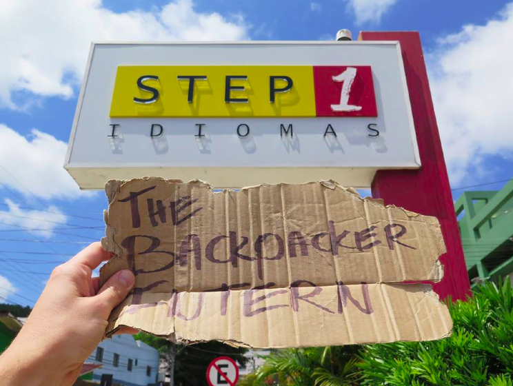 Day one at Step1 Idiomas - The Backpacker Intern