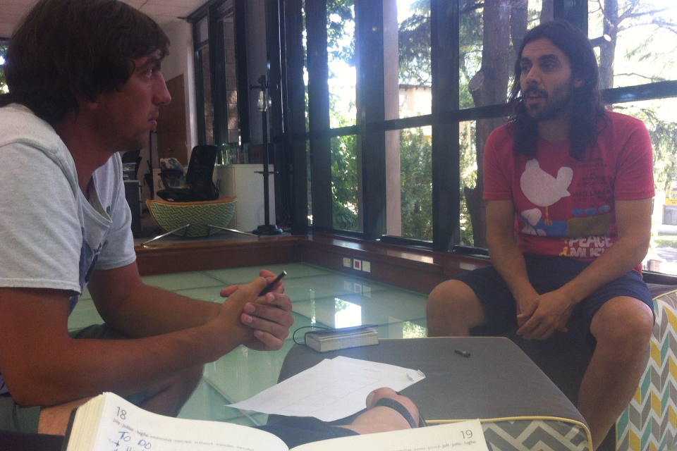 The Backpacker Intern Brainstorm at JWT Argentina