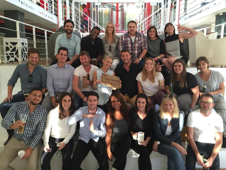 Ogilvy & Mather Cape Town Crew + The Backpacker Intern