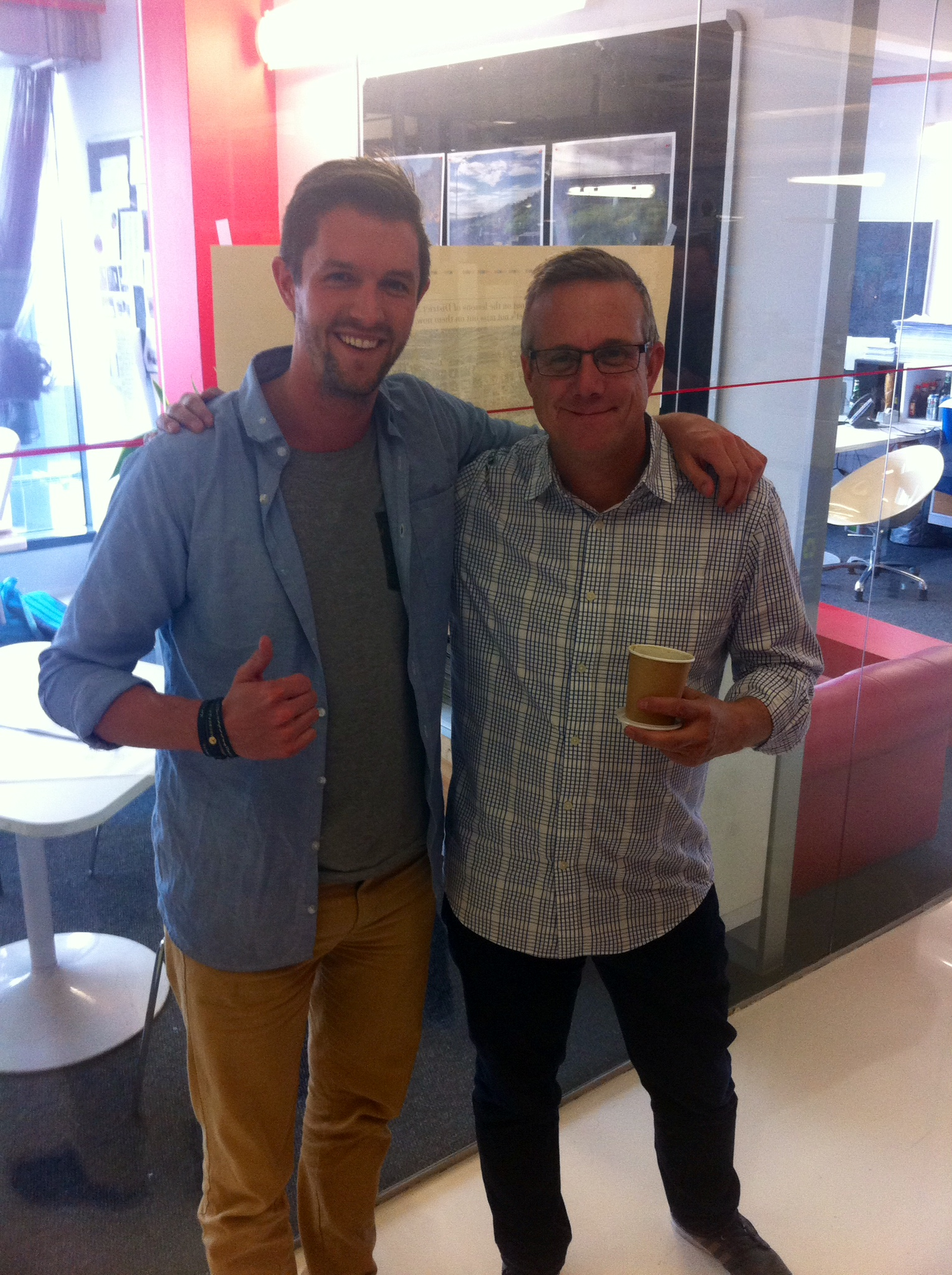 Mark van der Heijden + Chris Gotz at Ogilvy Cape Town