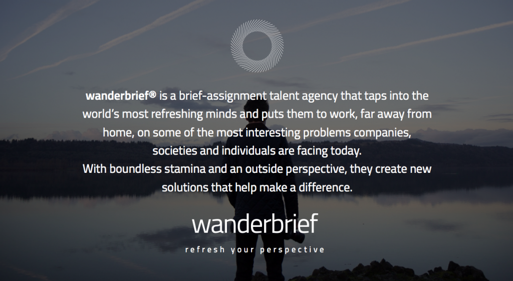 Wanderbrief Story - The Backpacker Intern