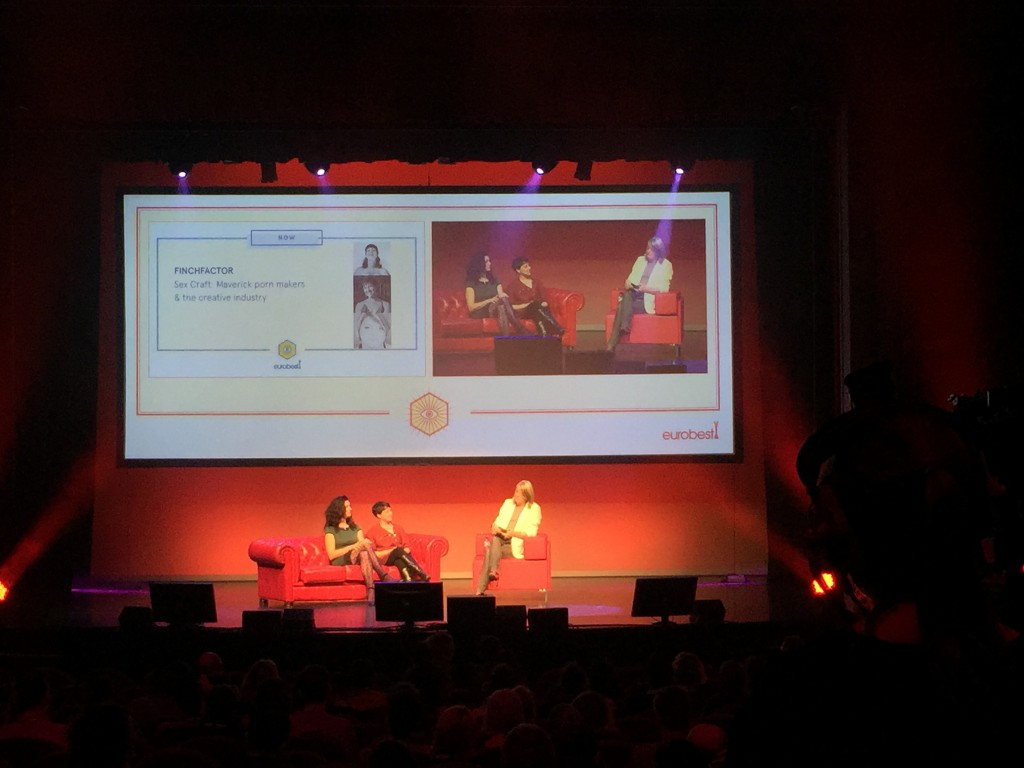 Kerrie Finch at Eurobest 2015 - The Backpacker Intern